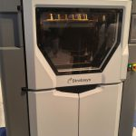 Photo of industrial FDM 3D printer Fortus by Stratasys